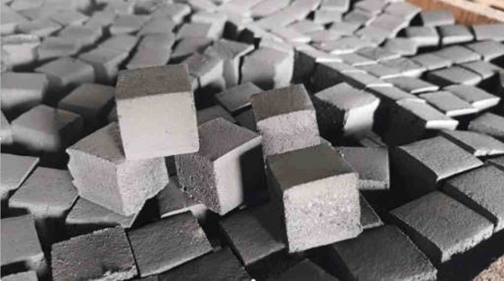 Cube Shape By Indojo Briket Pioneer
