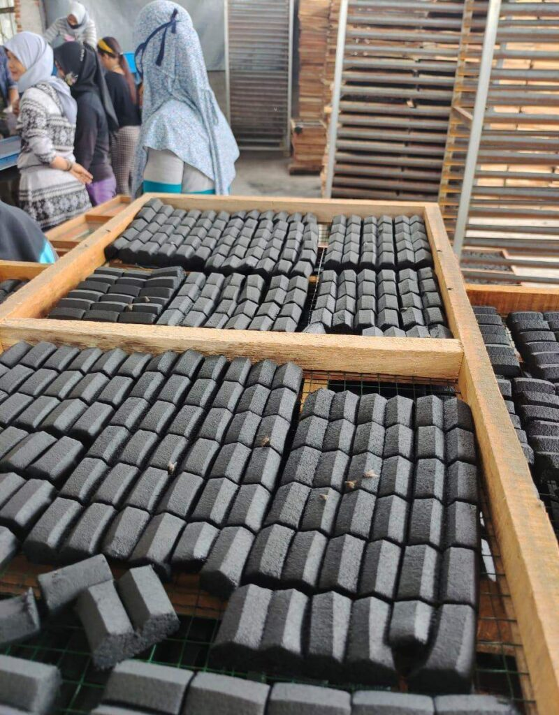 Indojo Briket Pioneer Producing Process